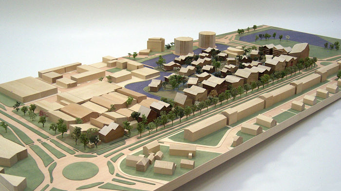 Scale vision Maquettebouw Architecten_Cie 1:500