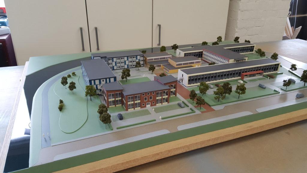 02 Maquette Campus Vlissingen 1-200 Maquettebouw