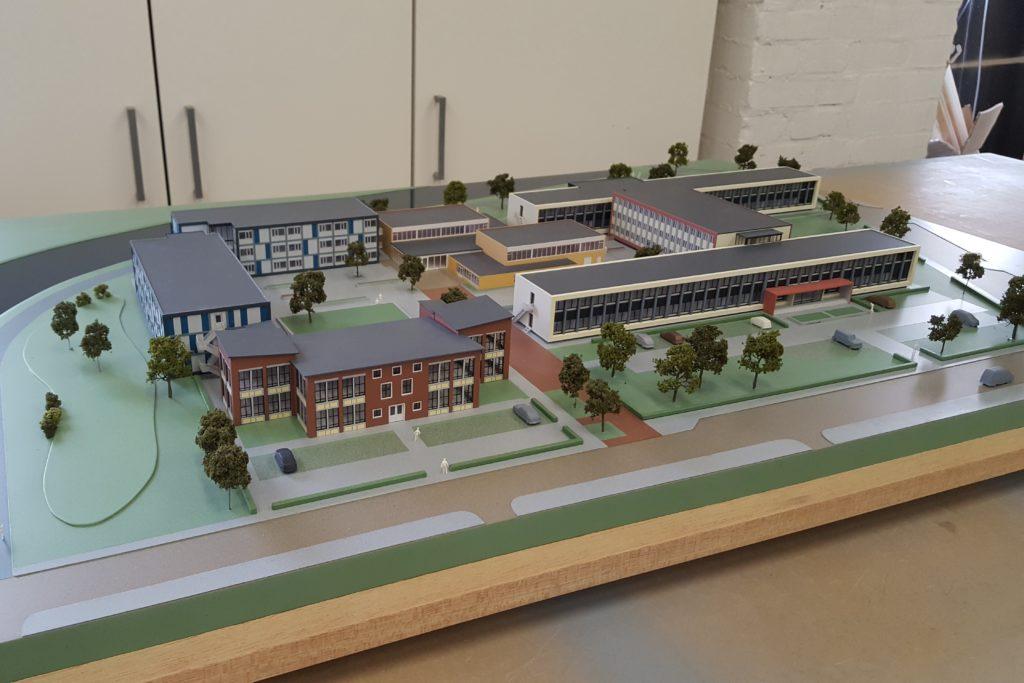 03 Maquette Campus Vlissingen 1-200 Maquettebouw