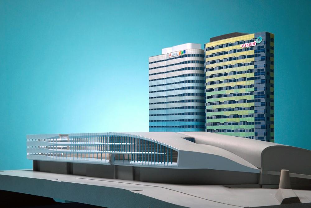 03-Maquette-ScaleVision-ArnhemCS-UNStudio