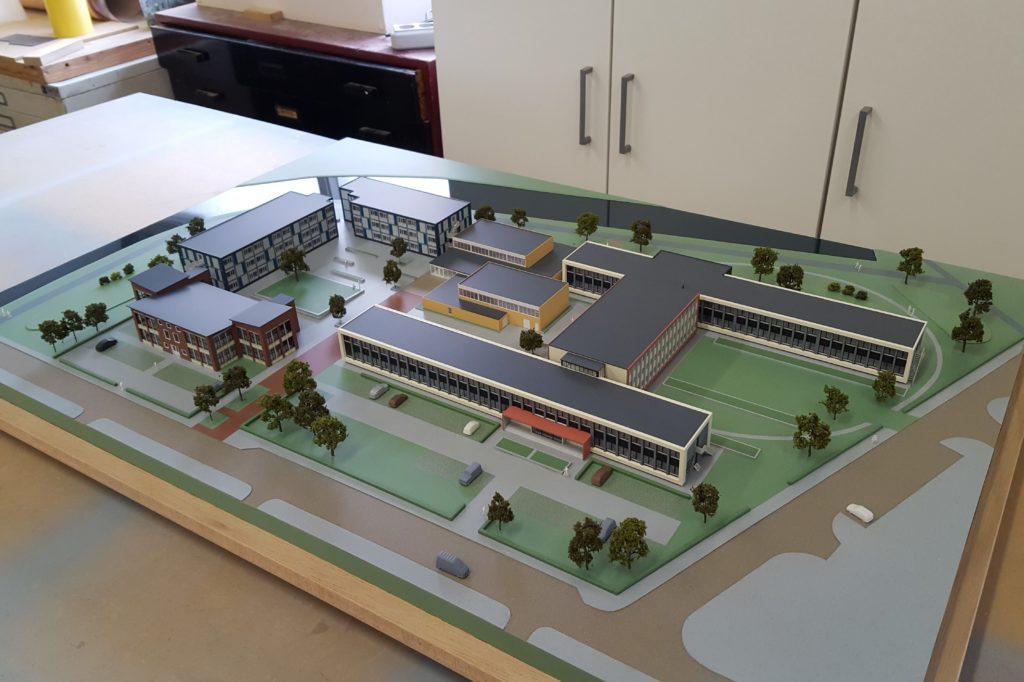 04 Maquette Campus Vlissingen 1-200 Maquettebouw