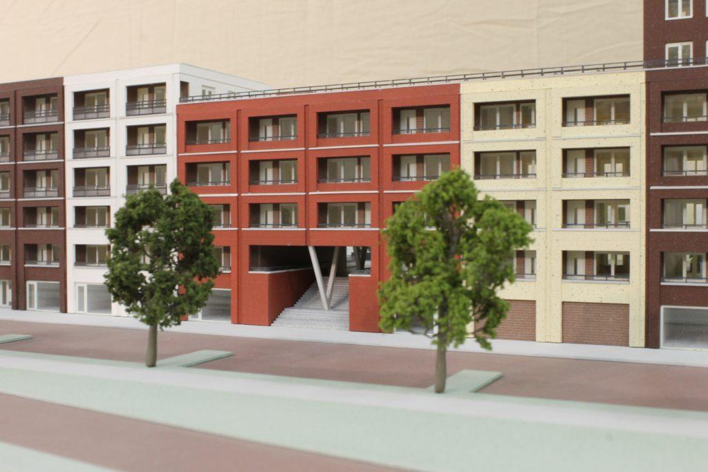 Maquette Het Ensemble 1:150 Scale Vision Maquettebouw