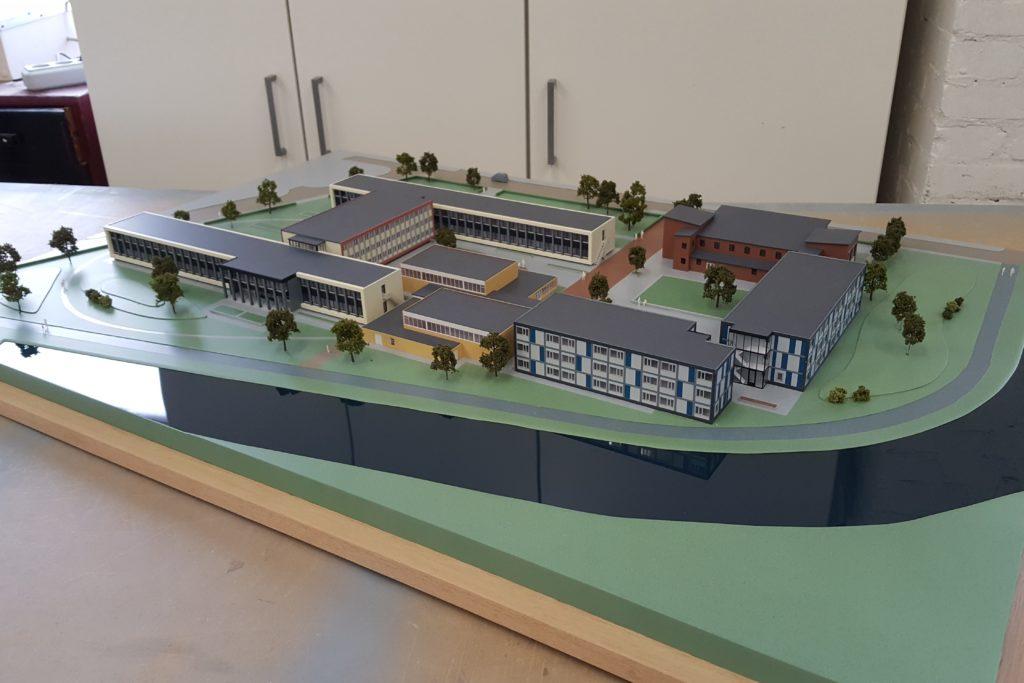 07 Maquette Campus Vlissingen 1-200 Maquettebouw