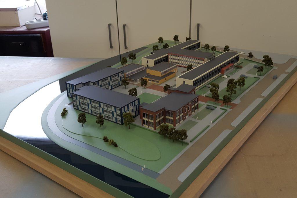 08 Maquette Campus Vlissingen 1-200 Maquettebouw