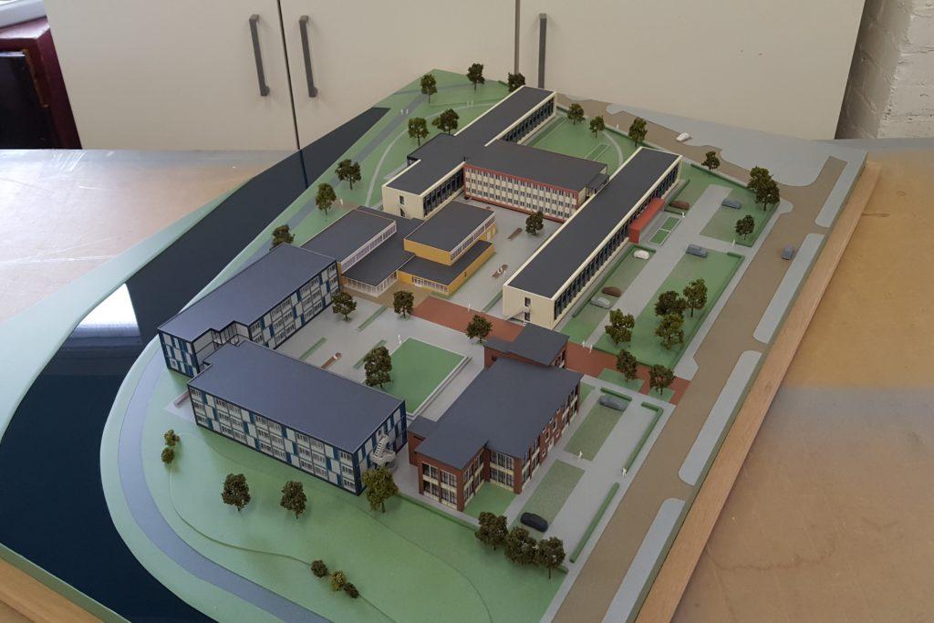 09 Maquette Campus Vlissingen 1-200 Maquettebouw