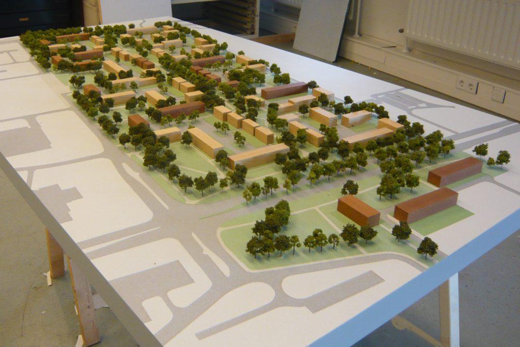Maquette Herstructurering Bijvank Enschede 01