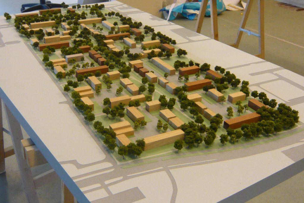 Maquette Herstructurering Bijvank Enschede 02