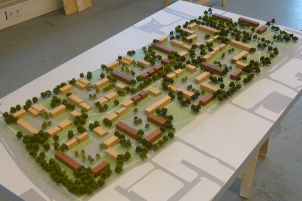 Maquette Herstructurering Bijvank Enschede 04
