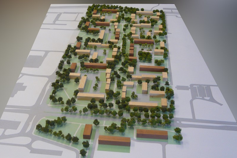 Maquette Herstructurering Bijvank Enschede 05