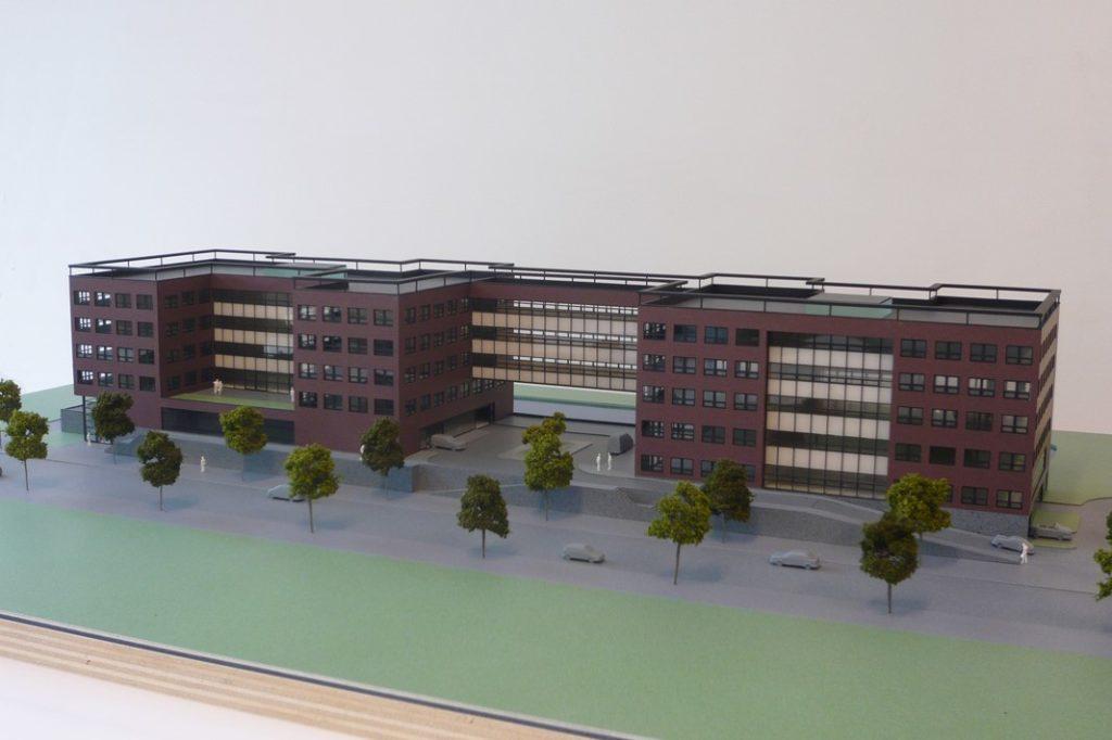 Maquette Kantoor 1-200 Scale Vision 04