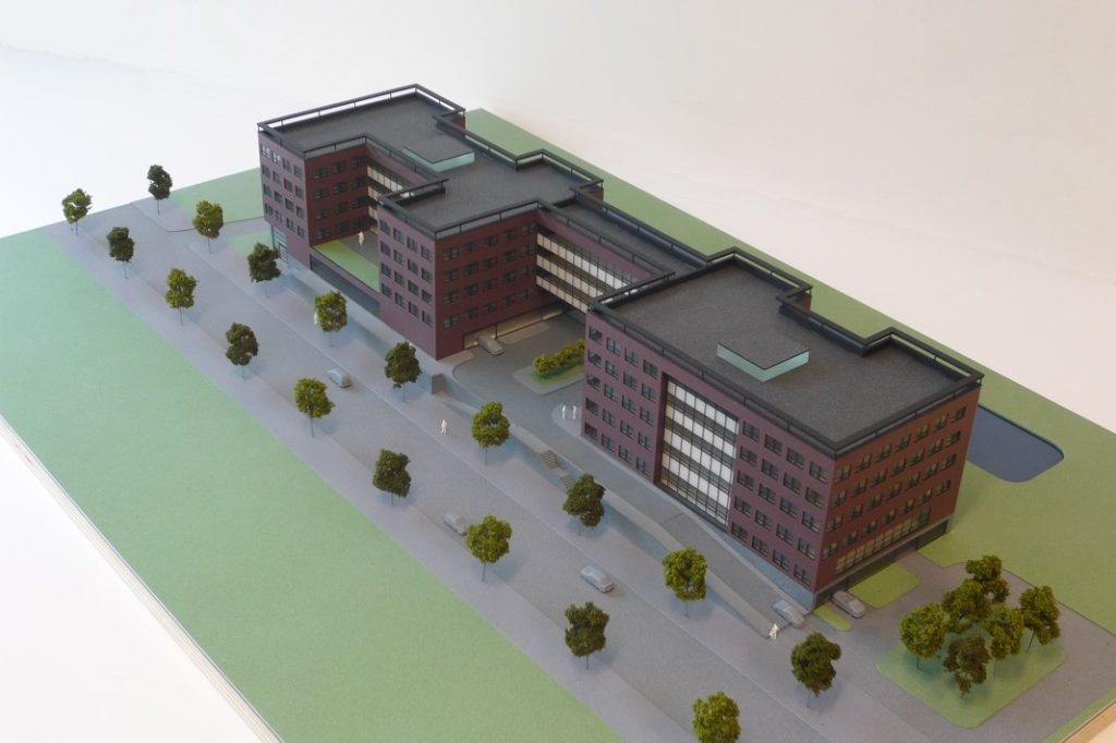 Maquette Kantoor 1-200 Scale Vision 05