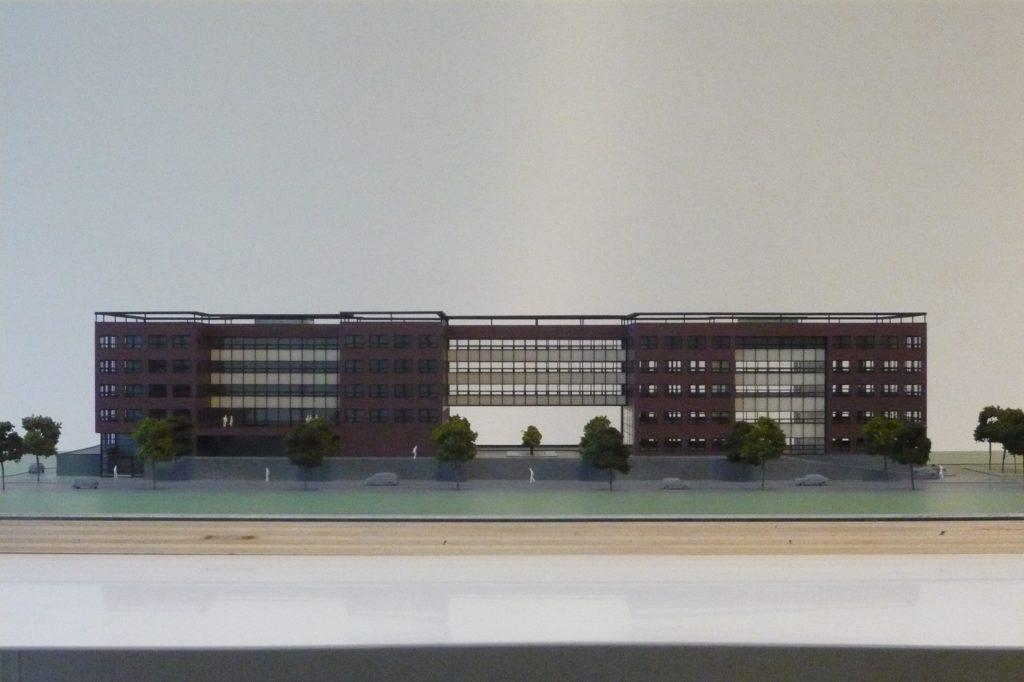 Maquette Kantoor 1-200 Scale Vision 06