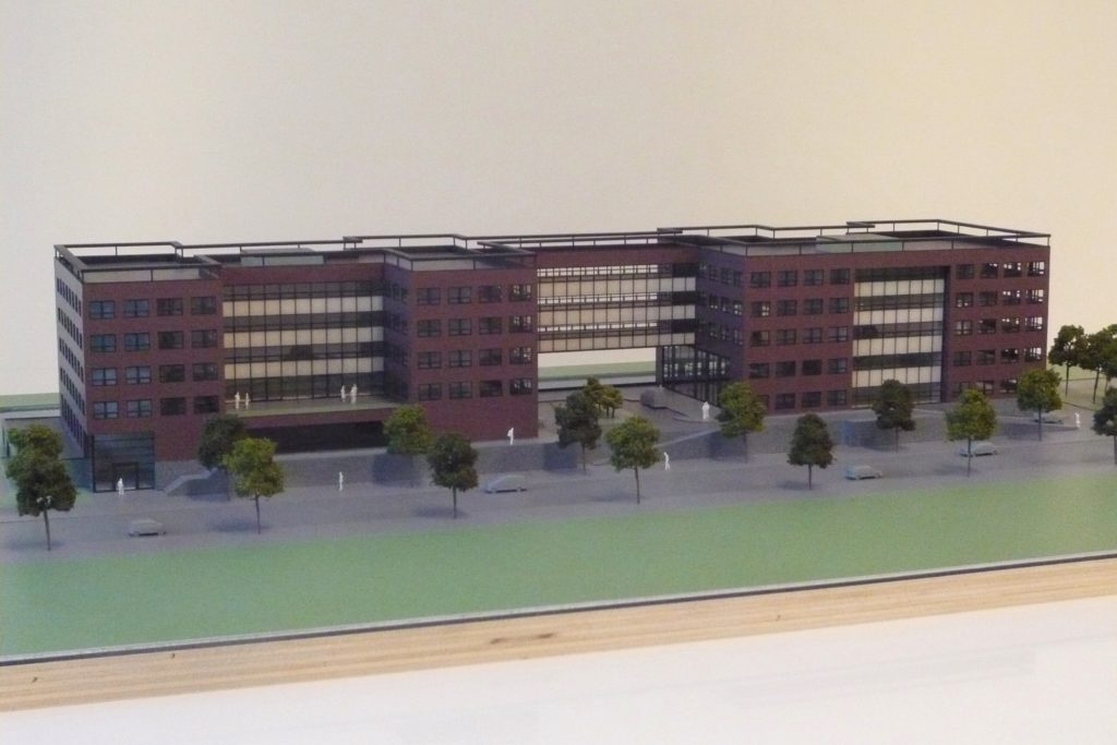 Maquette Kantoor 1-200 Scale Vision 07
