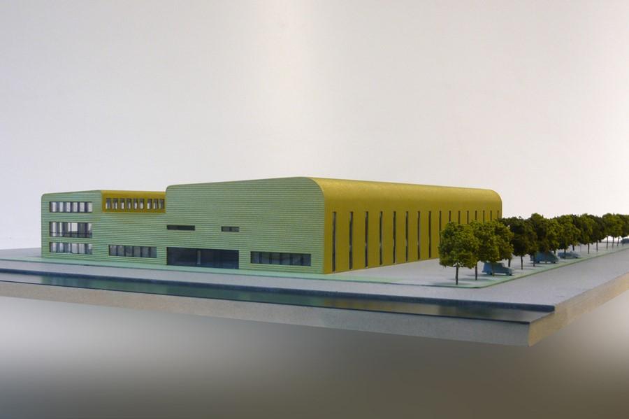 Maquette - Nuon Proeffabriek Helianthos 01