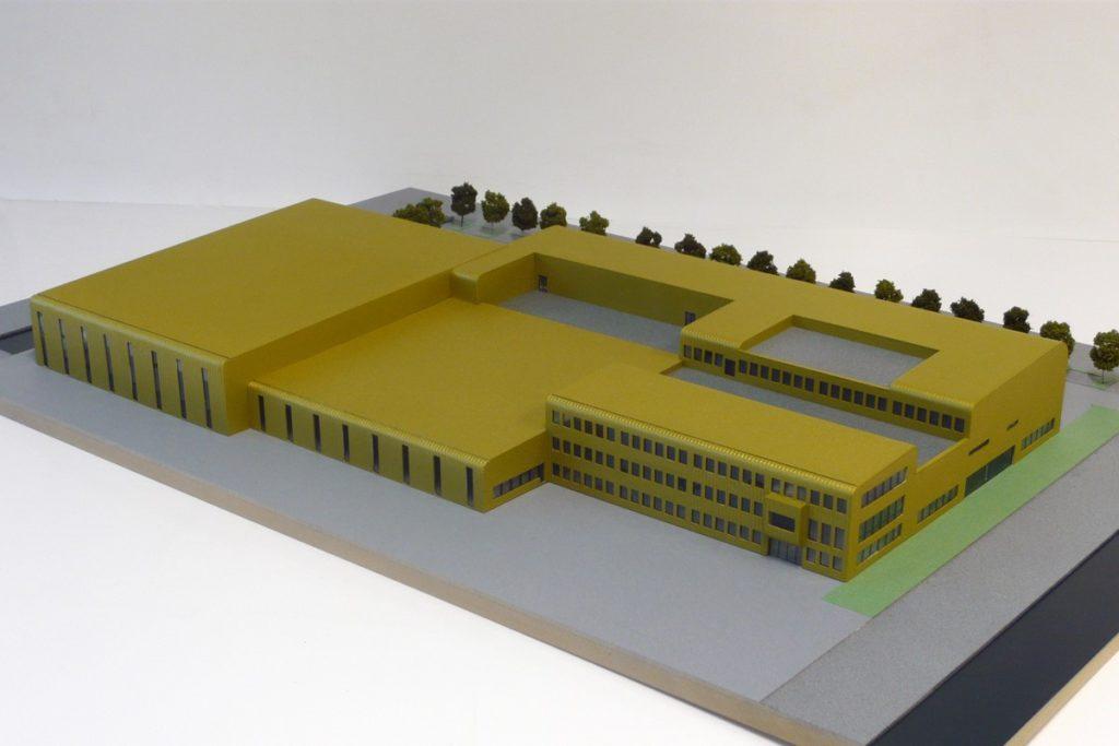 Maquette - Nuon Proeffabriek Helianthos 02