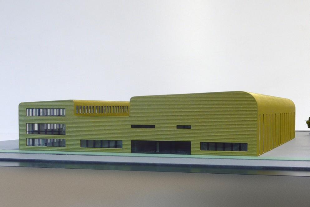 Maquette - Nuon Proeffabriek Helianthos 04
