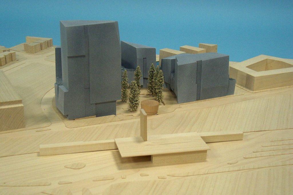 Scale vision Maquettebouw Tangram Architecten