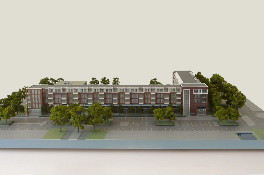 Maquette Waluwe 1-200 Scale vision 01