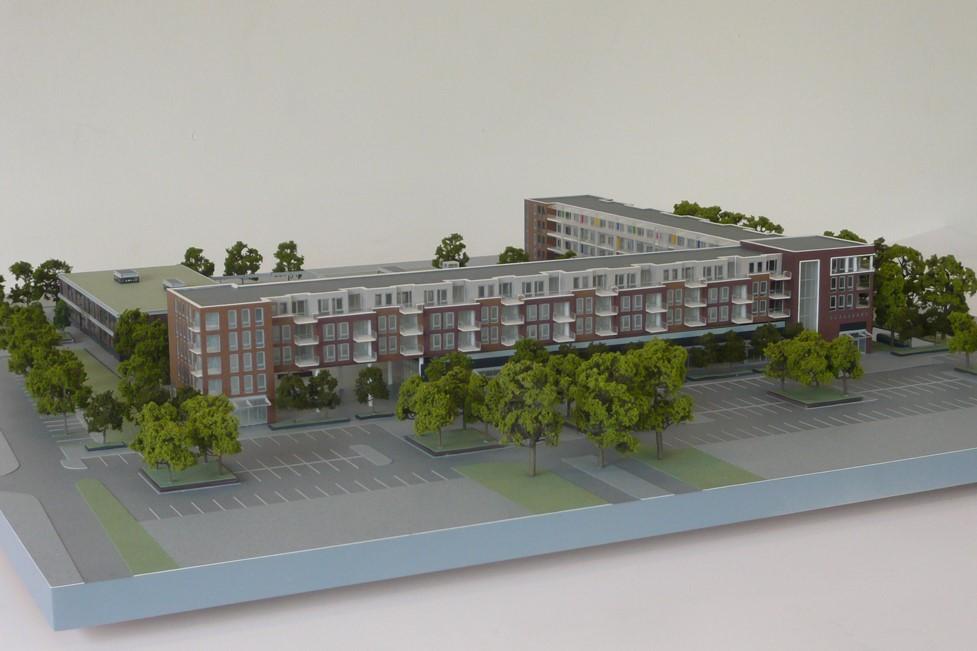 Maquette Waluwe 1-200 Scale vision 02