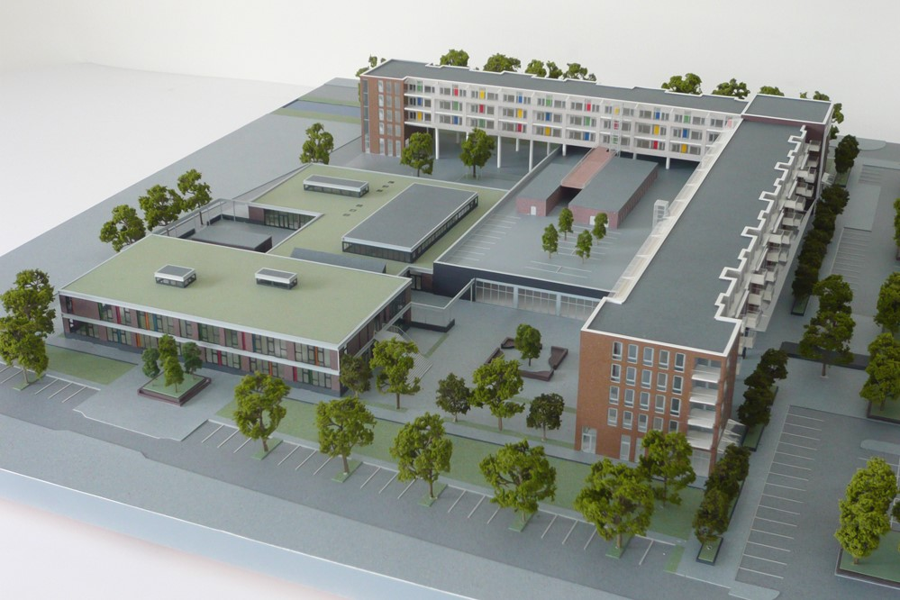 Maquette Waluwe 1-200 Scale vision 03