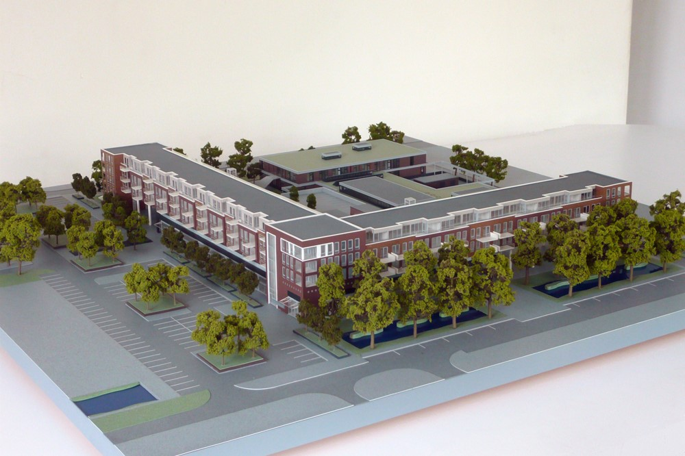 Maquette Waluwe 1-200 Scale vision 05