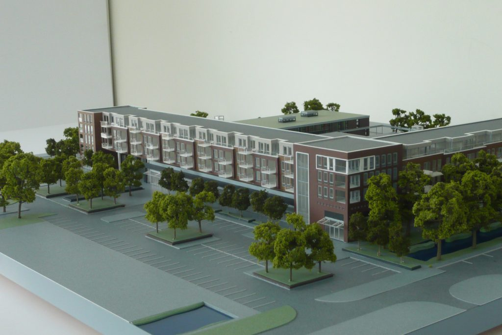 Maquette Waluwe 1-200 Scale vision 07