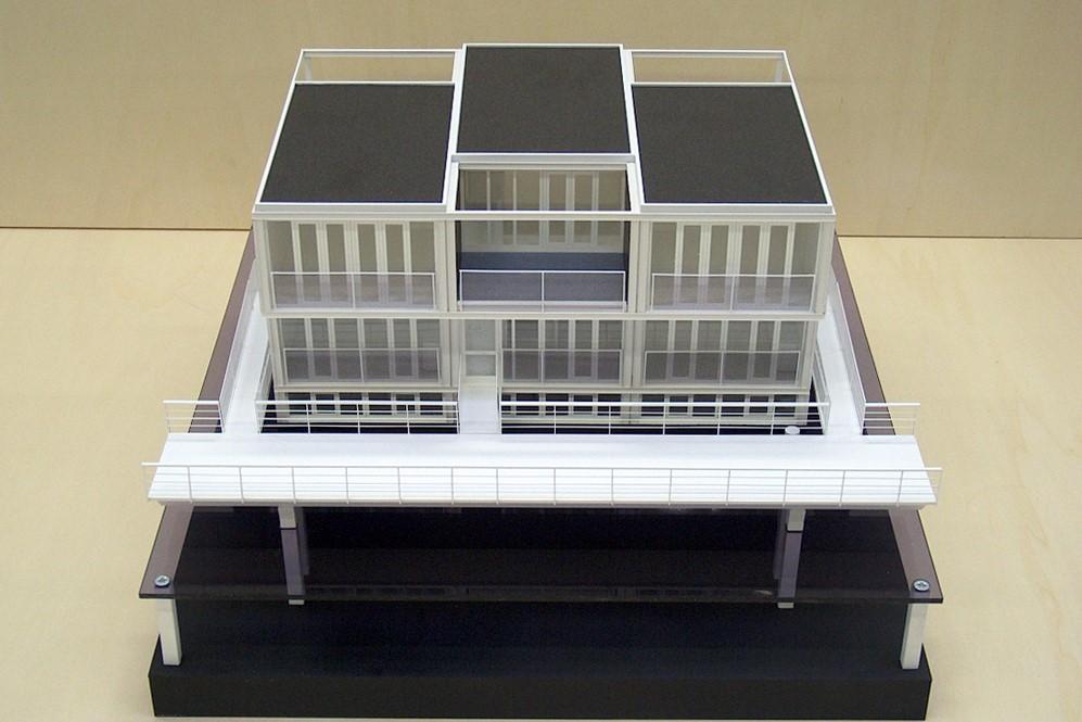 Maquette Waterwoningen IJburg Scale Vision 02
