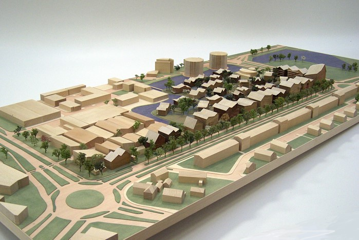 Maquette 1-500 Architecten Cie 01