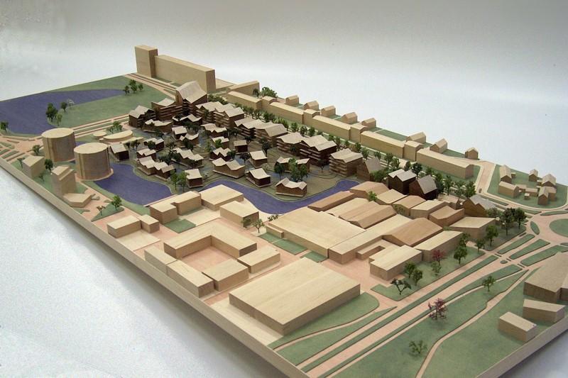 Maquette 1-500 Architecten Cie 02