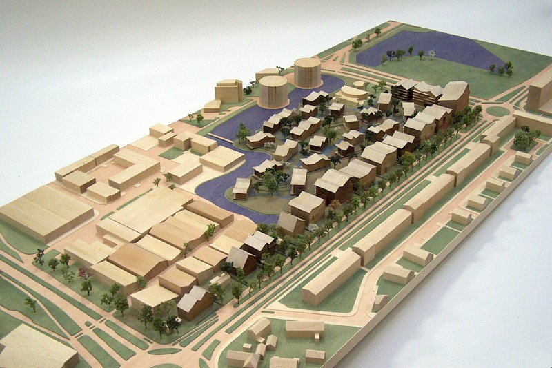 Maquette 1-500 Architecten Cie 04