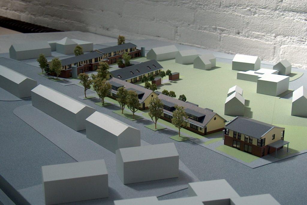 Maquettebouw Drie Zalmen te Rijswijk 02