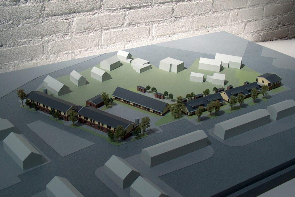 Maquettebouw Drie Zalmen te Rijswijk 04