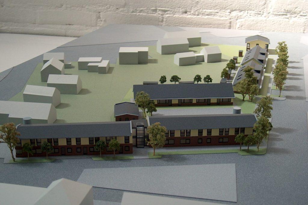 Maquettebouw Drie Zalmen te Rijswijk 06