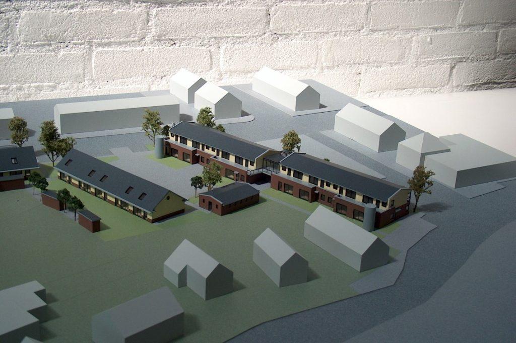 Maquettebouw Drie Zalmen te Rijswijk 07