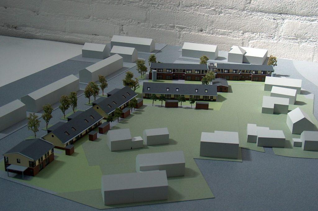 Maquettebouw Drie Zalmen te Rijswijk 09