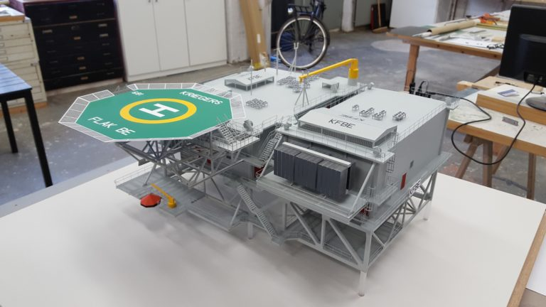 Offshor model 1-75 Maquette 01