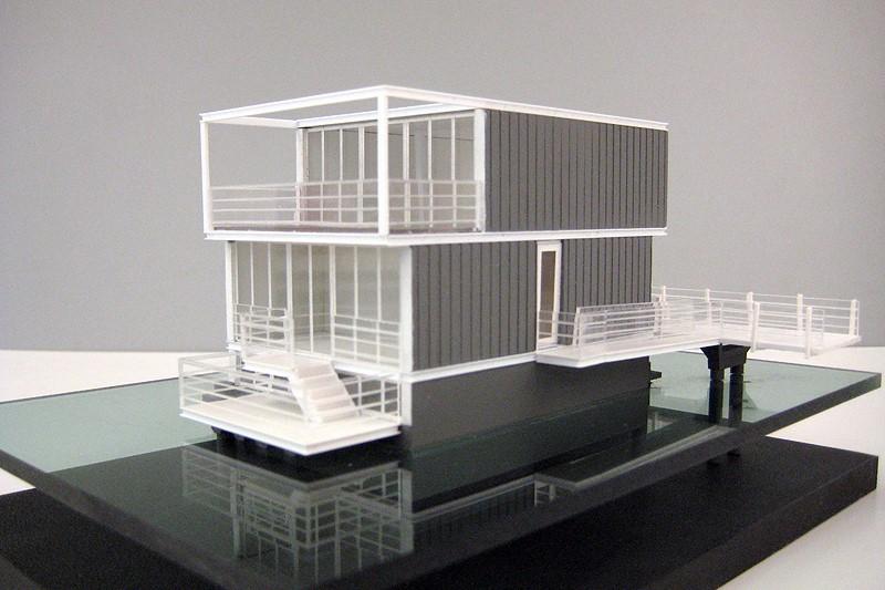 Waterwoningen IJburg_Scale vision Maquettebouw 01